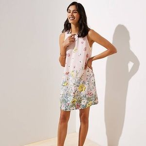 NWT Loft Floral Shift Dress